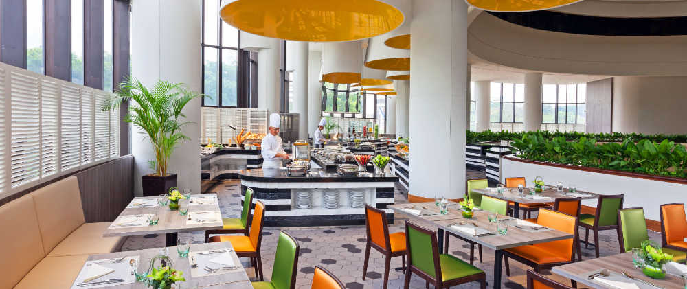 1 For 1 Lunch Buffet Deal at Atrium Restaurant Weekdays Till 14 May 2018