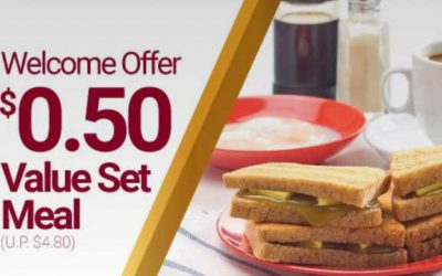 Redeem a 50 Cents Ya Kun Value Set Meal With Their App