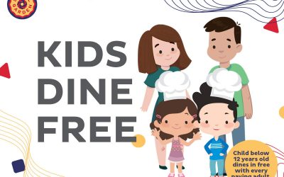 Seoul Garden Promotion – Kids Eat Free All Day (Ongoing till further notice)
