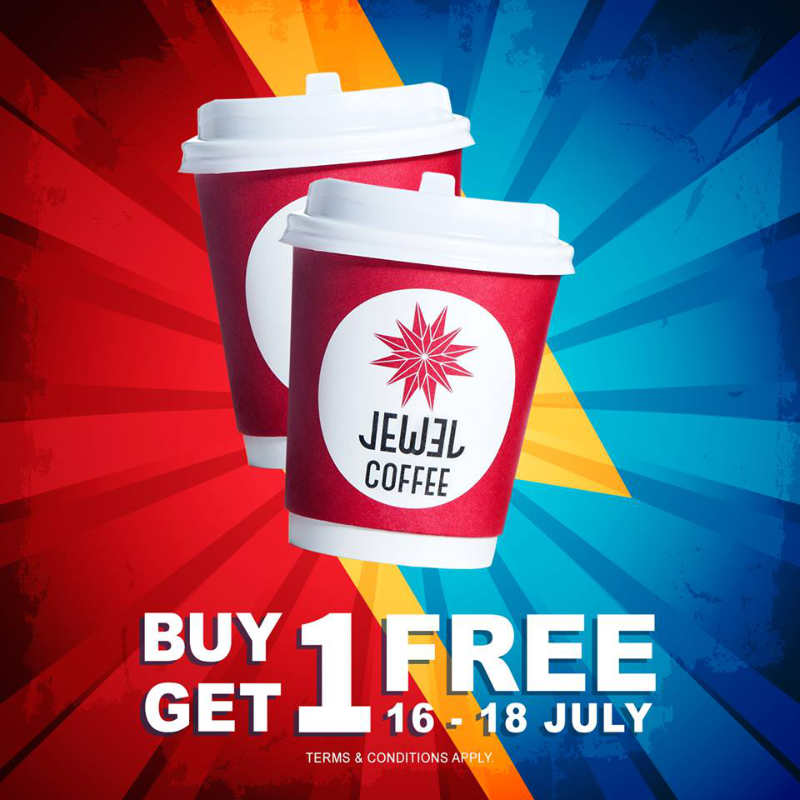 Jewel Coffee FIFA World Cup 1 For 1 Promotion