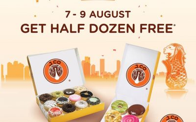 J.CO Donuts Promotion – Buy 12 Donuts and Get 6 Free
