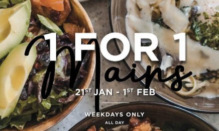 Boufe Boutique Cafe Annual 1 For 1 Mains Weekday All Day Promotion 21 Jan – 1 Feb 2019