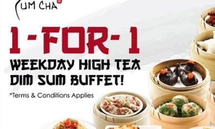 Yum Cha Restaurant (Chinatown) 1 For 1 Weekday High-Tea Dimsum Buffet For Those with 11B