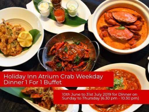 Holiday Inn Atrium Buffet Deal