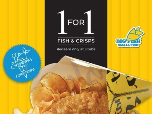 1 for 1 fish chip promotion featured