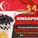 Each-a-Cup Singapore is Giving Away FREE Pearl Milk Tea on 9 August From 3pm onwards