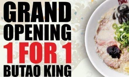 1 For 1 Ramen Nagi Butao King Promotion at ION Orchard 13 Sep 19