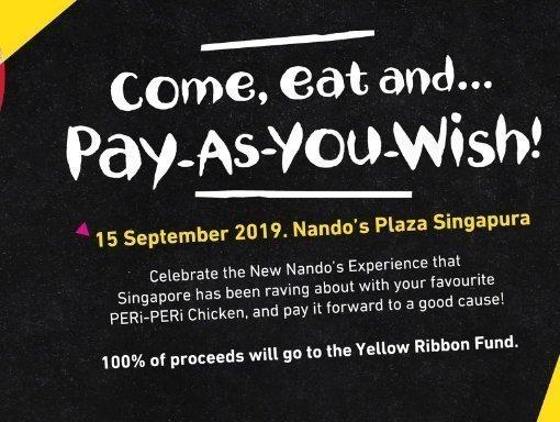 nando pay as you wish promo