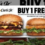 Carl Jr Buy 1 California Classic Double Cheeseburger and Free 1 Crispy Chicken Sandwich 29 Oct – 1 Nov 2019