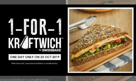 1 For 1 Kraftwich Promotion Only on 25 Oct 19