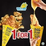 1 For 1 Big Fish Small Fish Promotion by Flashing Your NTUC Plus! Card Now Till 9 Feb 2020