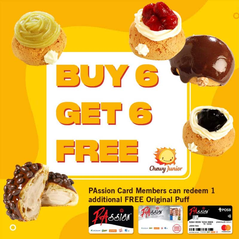Chewy Junior Buy 6 Get 6 Free Promo