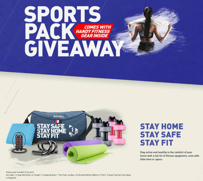 Get Your Free Sports Pack From 1 Play Sports Now