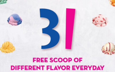 Baskin-Robbins Promo – Get One Free Flavor with Every Single Regular Scoop Purchased