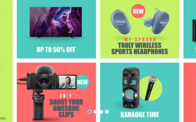 Sony Mid Year 2020 Promotion – Enjoy 50% Off TV, Cashbacks and Many Offers