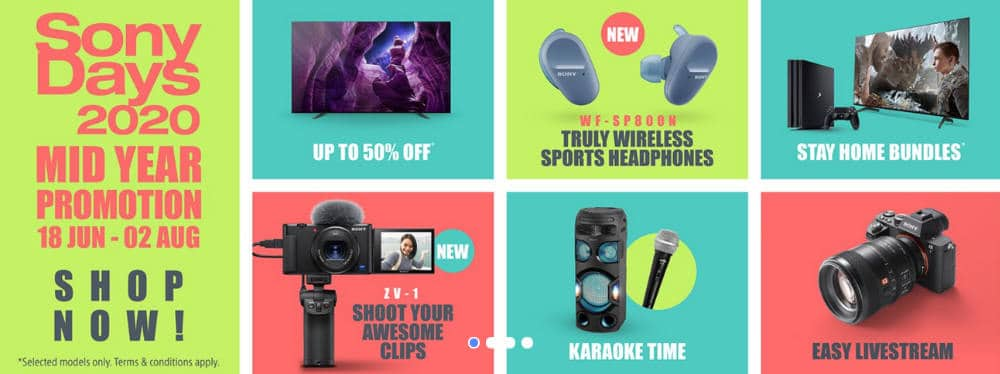 Sony mid year 2020 promotion