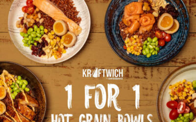 Kraftwich 1 For 1 Hot Grain Bowls July Promotion Only On Deliveroo