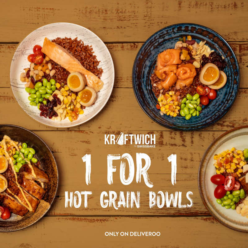 Kraftwich 1 for 1 Hot Grain Bowls promo