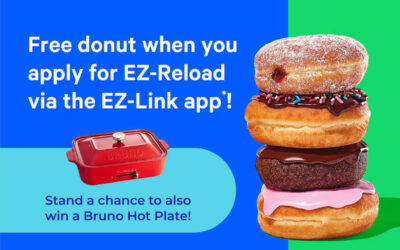 Redeem a Free Donut From Dunkin' Donuts When You Sign up for EZ-Reload (Auto Top-Up)