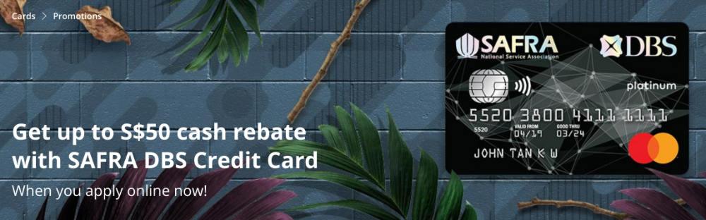 safra dbs card rebate