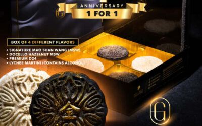 Golden Moments 4th Anniversary 1 For 1 Mooncakes Promotion