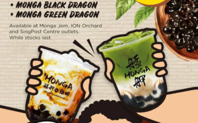 Monga Fried Chicken Offers 1 For 1 Bubble Tea Promotion at All 3 Outlets