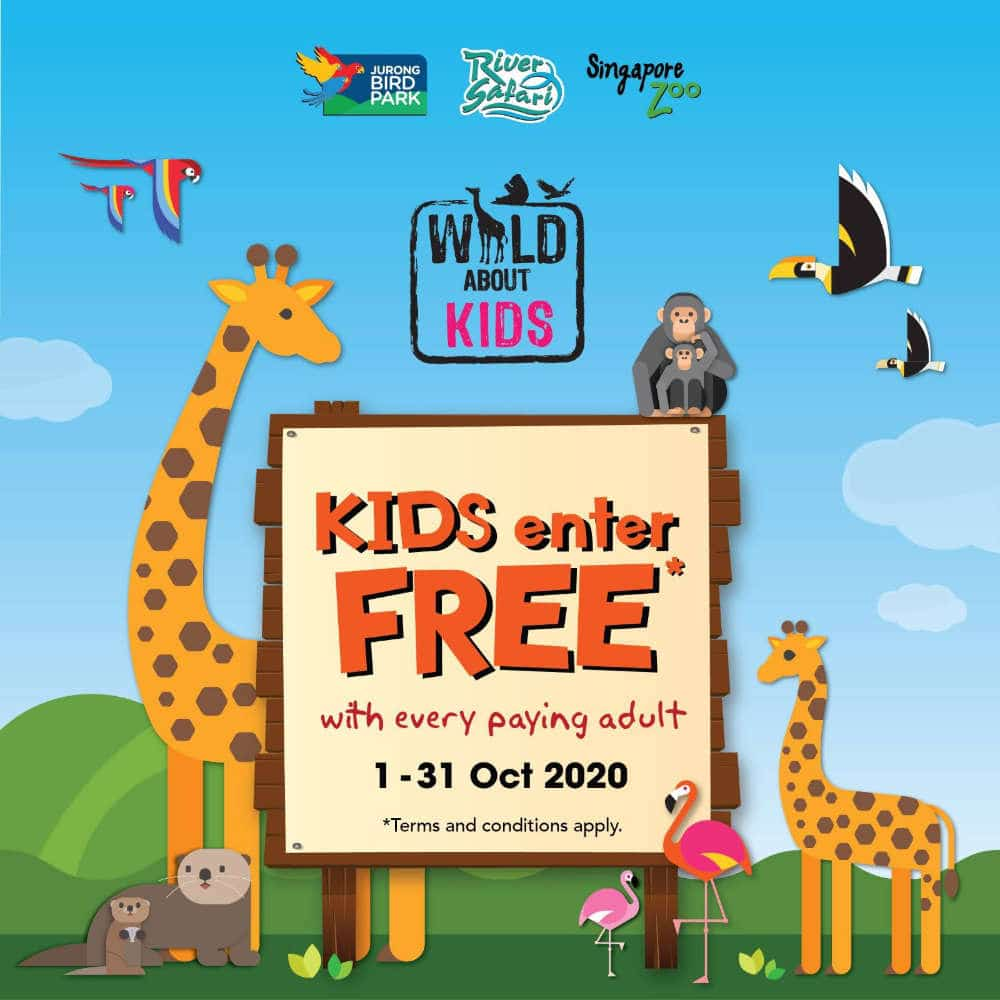 kids free admission to zoo