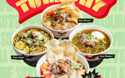 Tok Tok Indonesian Soup House 1 For 1 Soto Dishes Promotion Every Tuesday