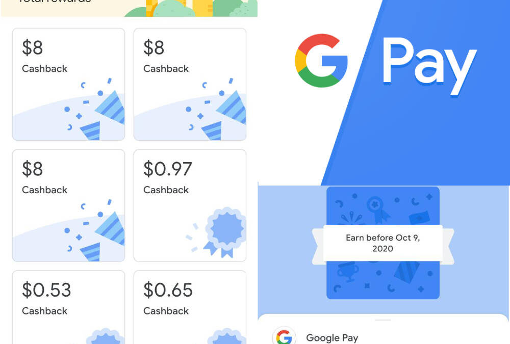 Get S$5 When You Sign-up for Google Pay and Get S$5 With Each Successful Referral by 30 Nov 2020