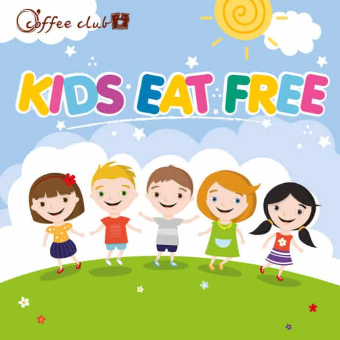 O' Coffee Club Singapore Kids Eat Free