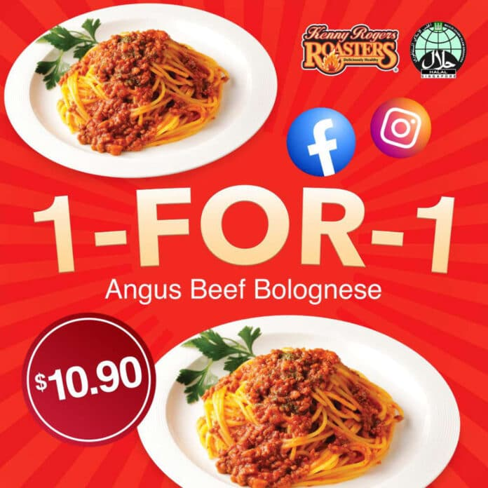 Kenny Rogers Roasters Singapore 1 For 1