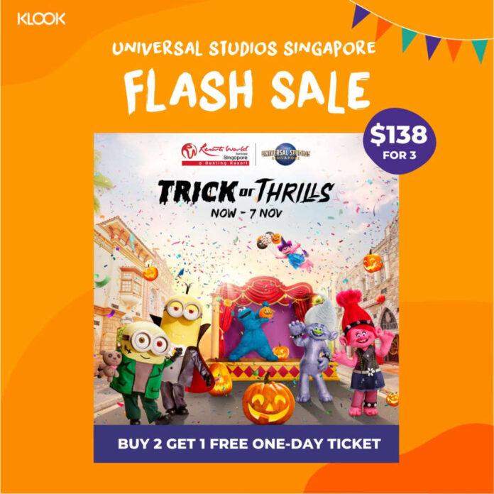 klook deal universal studio singapore