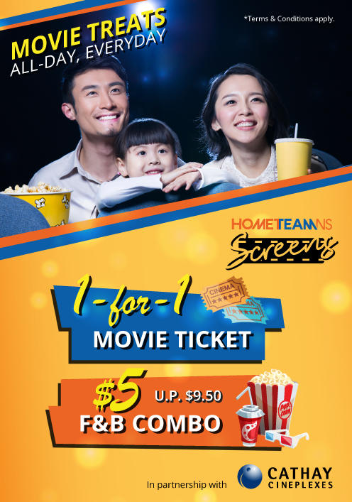 Cathay Cineplexes Promotion