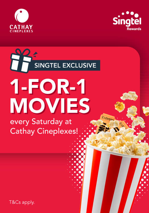 Cathay Cineplexes Promotion singtel