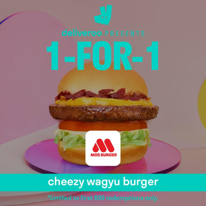 MOS Burger Promotion