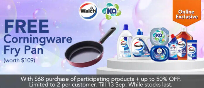 fairprice online promo frying pan offer