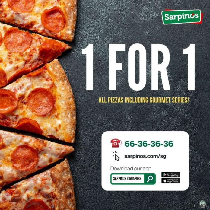 Sarpino Singapore Promotion
