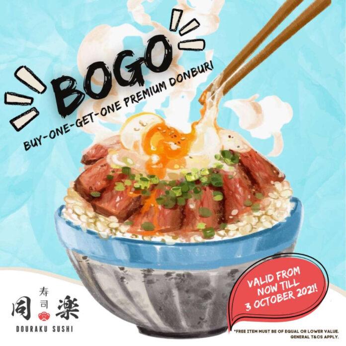 Tung Lok Promotion Douraku Sushi