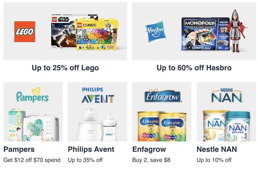 amazon singapore promotions toy sales