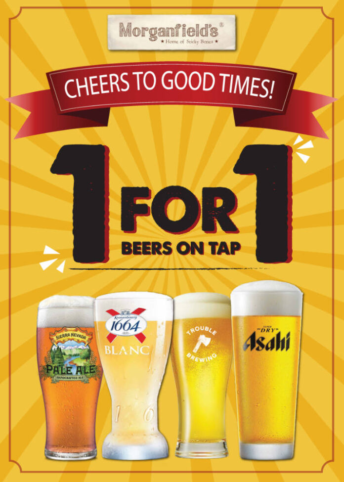 morganfield's singapore beer promotion