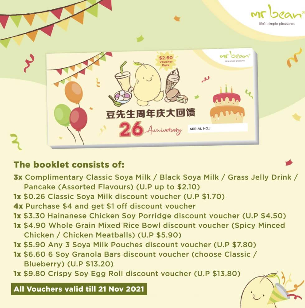 mr bean singapore promotion
